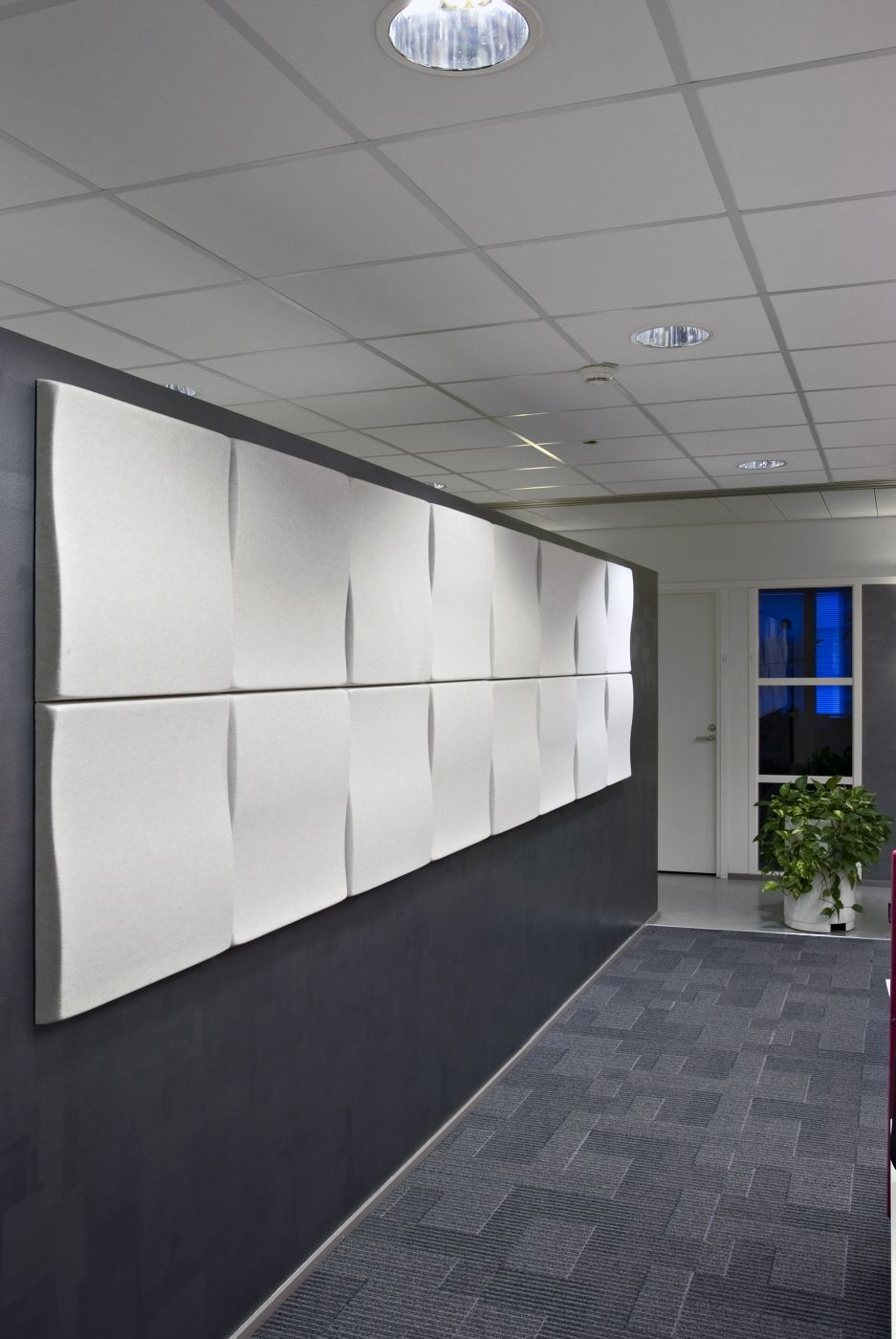 Soften Wallpanels S1, valkoinen